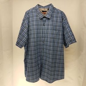 NEW Men's Van Heusen XXL 18-18 1/2 Traveler Shirt